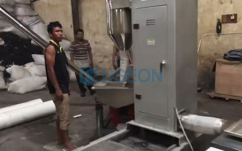 350~450kg/h PET Popcorn Recycling Line in Indonesia