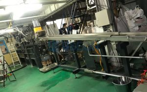 300~450kg/h PET Bottle Flakes Recycling Machine in Taiwan