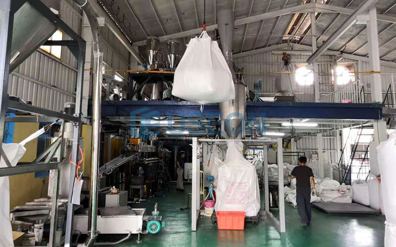 PET Bottle Flakes Recycling Machine Project in Taiwan