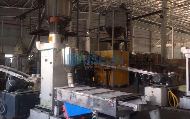 2019 thailand PET bottle flakes recycling machine