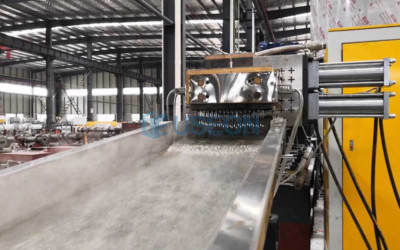 1000kg/h BOPET Film Recycle Line in China