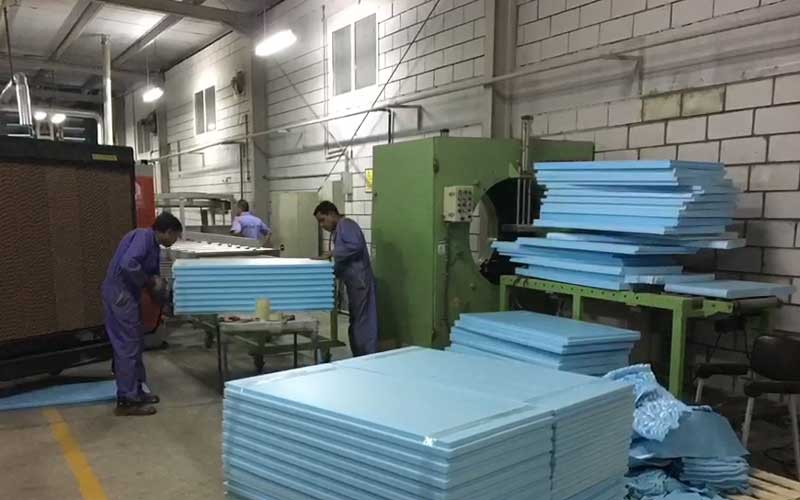 400-600kg/h XPS Production Line in Oman