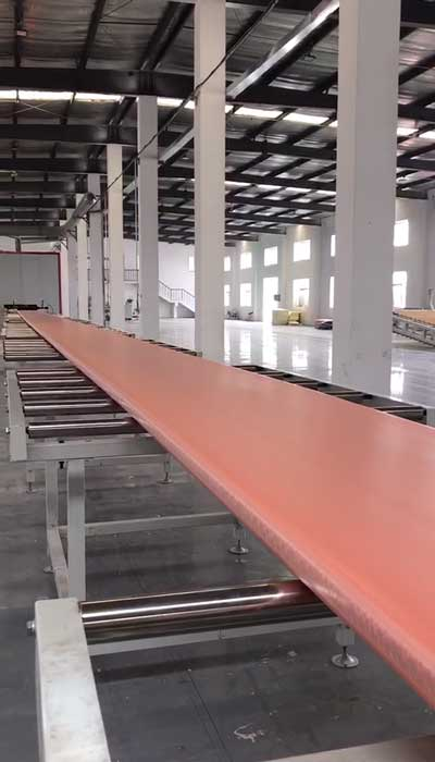 600-1000kg/h XPS Production Line in Tianjin