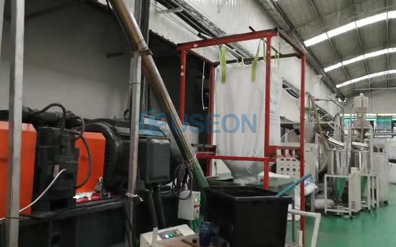 800kg/h PET Recycling Line in Thailand
