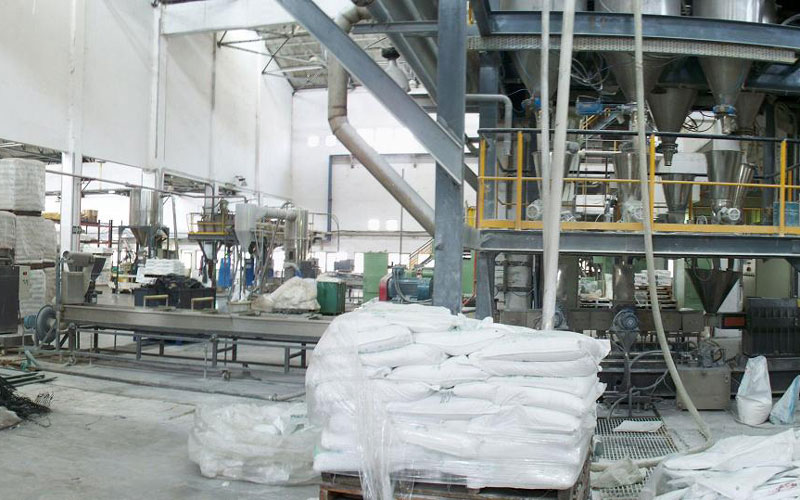 700kg/h PP Filler with Loss in Weight Feeding in India