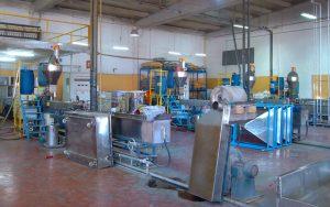 300kg/h PP Base Tailor-Made Masterbatch Pelletizing Line in Turkey