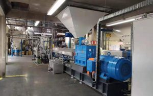 1500kg/h TPE TPR Production Line in Brazil