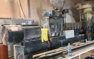 900kg/h Rigid PVC Pelletizing Line in Serbia