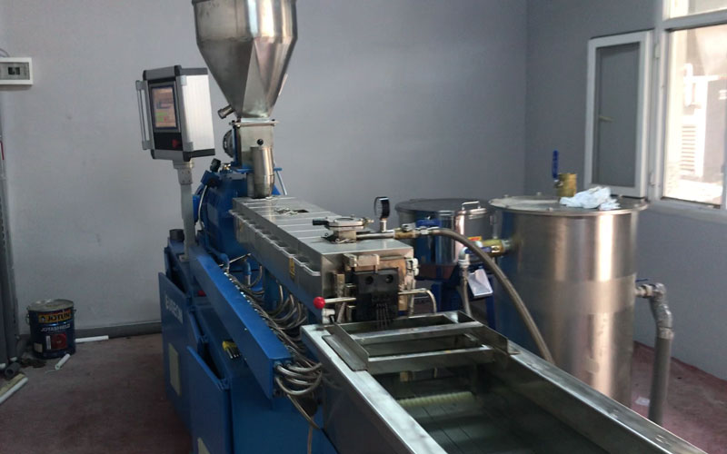 Color Masterbatch Production Line in Turkey