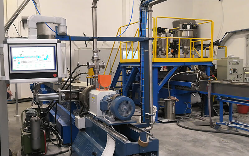 TPE Compounds Production Line in Poland