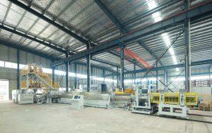 TDS135-TDD400 XPS Production Line