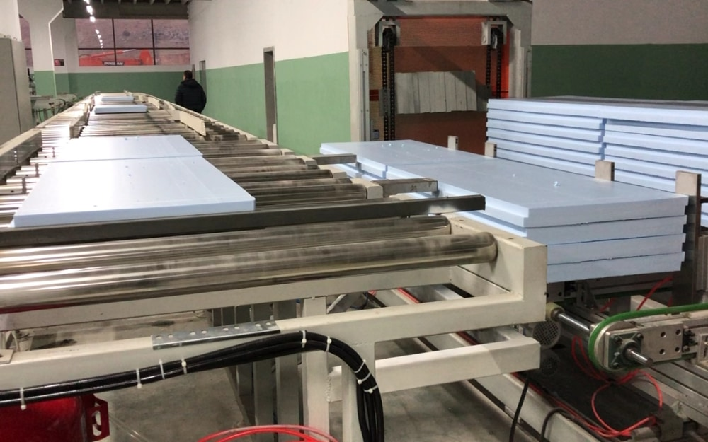 1000kg/h XPS Production Line in Turkey