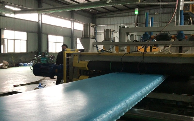 1050kg/h XPS Extrusion Line in Hebei