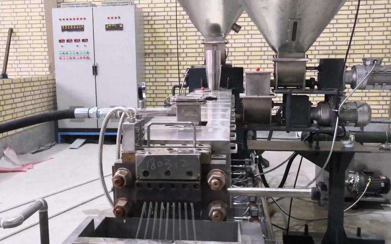 250kgh Additive Masterbatch Compounding Line in Iran