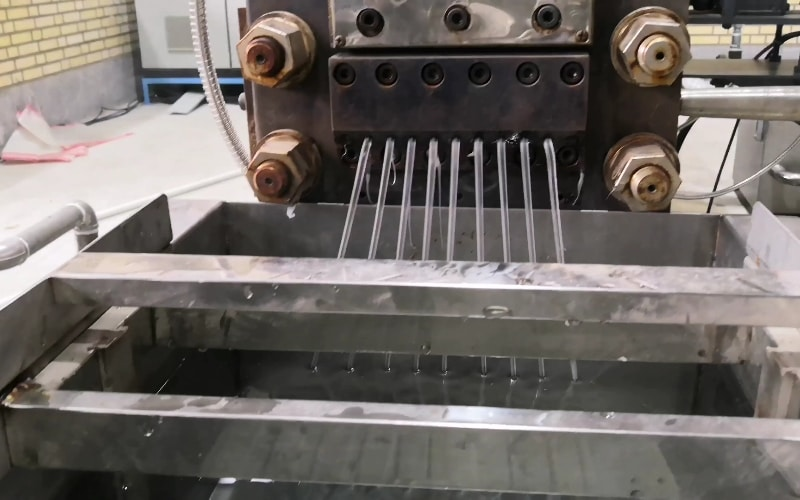 250kg/h Additive Masterbatch Compounding Line in Iran