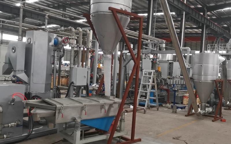 500kg/h Rigid PVC Compounding Line