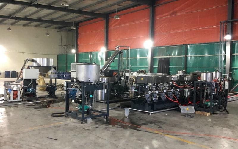 PMMA Polymerization and Devolatilization