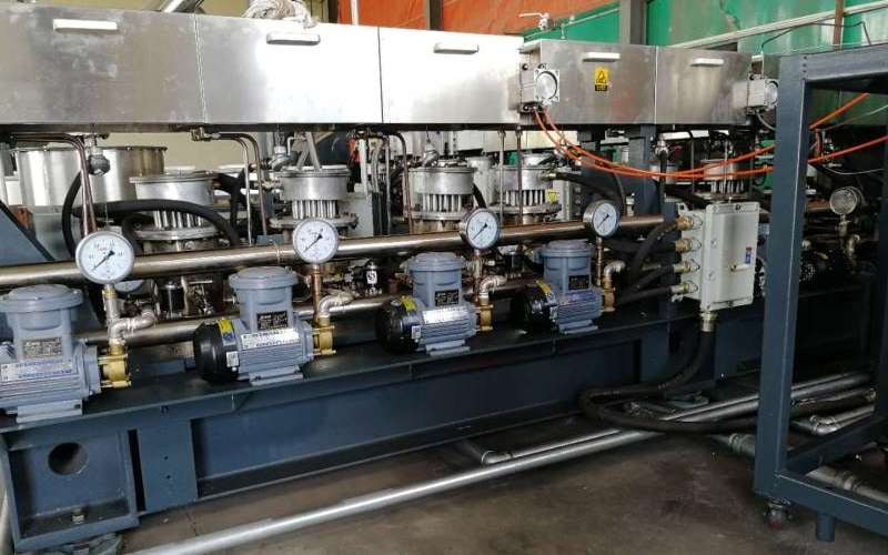 250kg/h PMMA Polymerization and Devolatilization in China