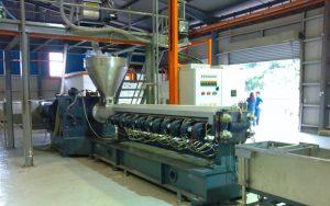 1000kg/h Rotational Moulding Compounding Line in UK