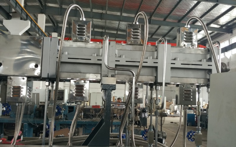 300kg/h Thermosets Compounding Line in China