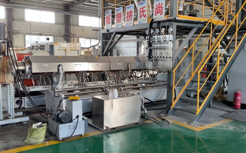 XPS Extrusion Machine in ShangShi