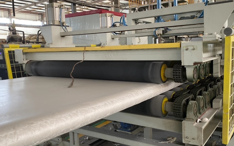 2000kg per hour XPS Production Line in China