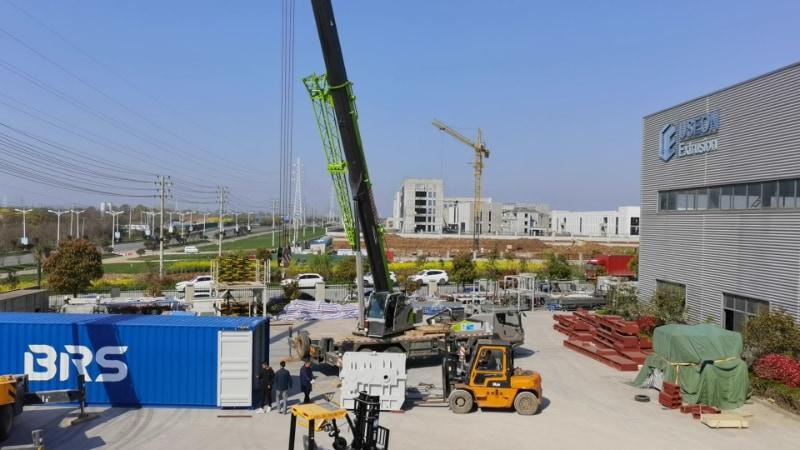 XPS Production Line to Moldova
