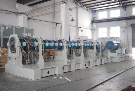 2006_largest Chinese crafted Single Screw Extruder