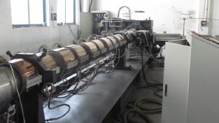 2008_single screw extruder tandem extrusion line