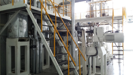 2011 twin screw extruder for BOPET
