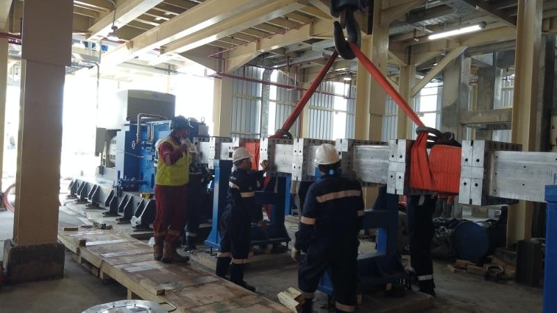 Barrel Installation