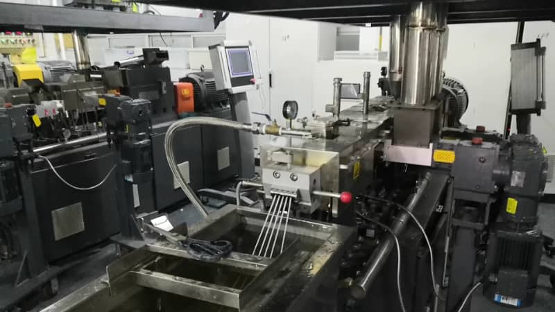 LAB Twin Screw Extruder for PA66 Compounding