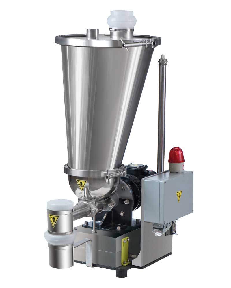 Loss-in-weight Feeder for Pellet