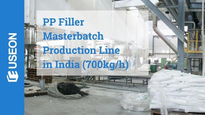 PE Filler Masterbatch Line in India