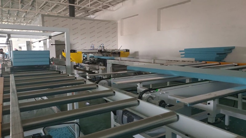 XPS Extrusion Line in Hebei JiaHao