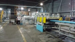 XPS Extrusion Line in Wuxi