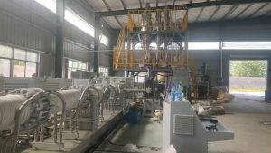 XPS Extrusion Machine in Hubei